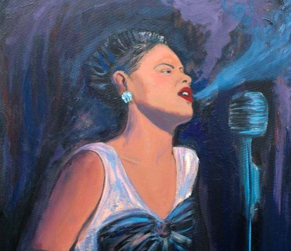 Blues Singer by Maiko Maya