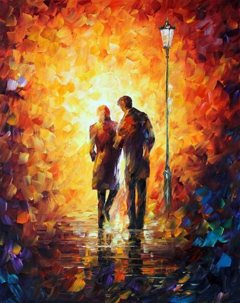 Come Together by Leonid Afremov